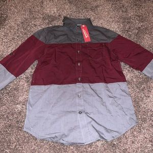 Boy's Long Sleeve Button Down BRAND NEW w/ TAGS!